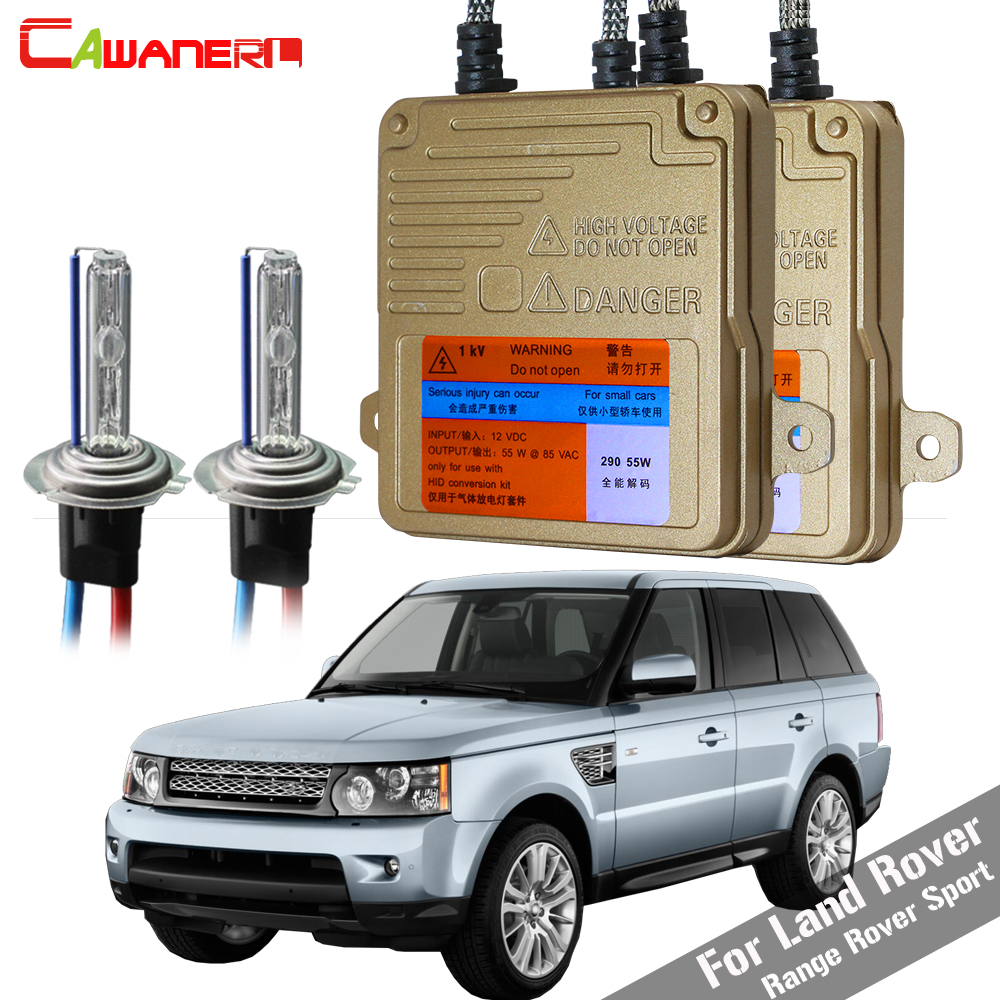 Cawanerl H7 55W Car No Error HID Xenon Kit Bulb Ballast AC Auto Light Headlight For Land Rover Range Rover Sport 2006-2009Cawanerl H7 55W Car No Error HID Xenon Kit Bulb Ballast AC Auto Light Headlight For Land Rover Range Rover Sport 2006-2009