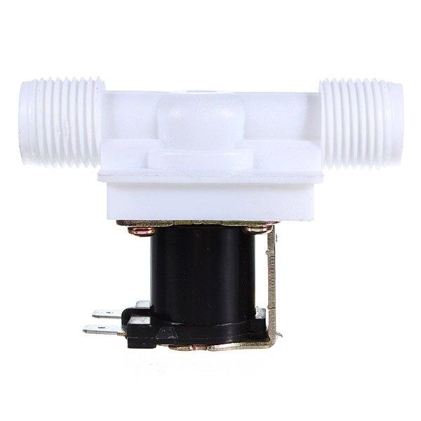 Электрический Соленоидный клапан N/C, с выключателем подачи воды, 1/2 дюйма, 12 В, постоянный ток, низкая цена