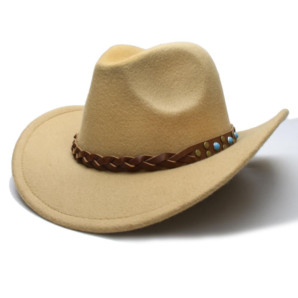 Detalle Comentarios Preguntas sobre LUCKYLIANJI lana fieltro vaquero ... 1d222a9e915
