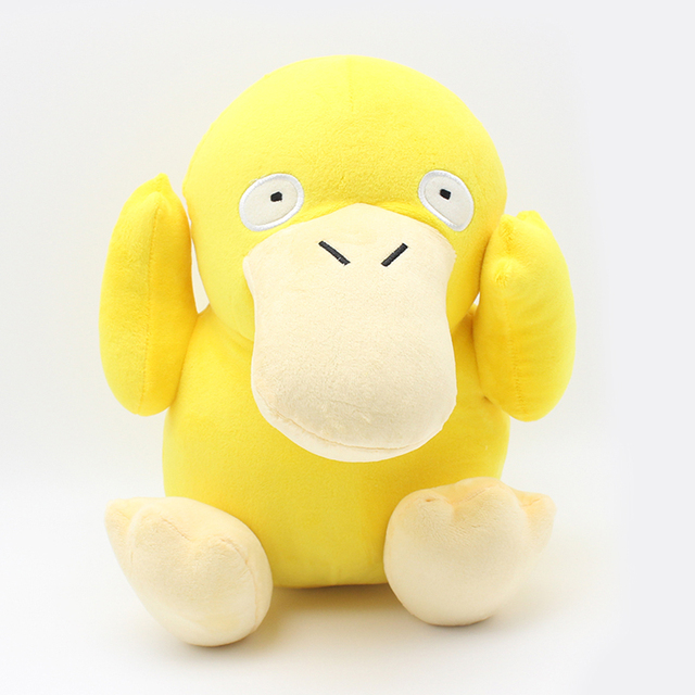 2016 Anime Cartoon Psyduck Soft Plush Toy 30cm 11.8'' Yellow Pocket Duck Stuffed Animals Plush Doll  Plush Toys