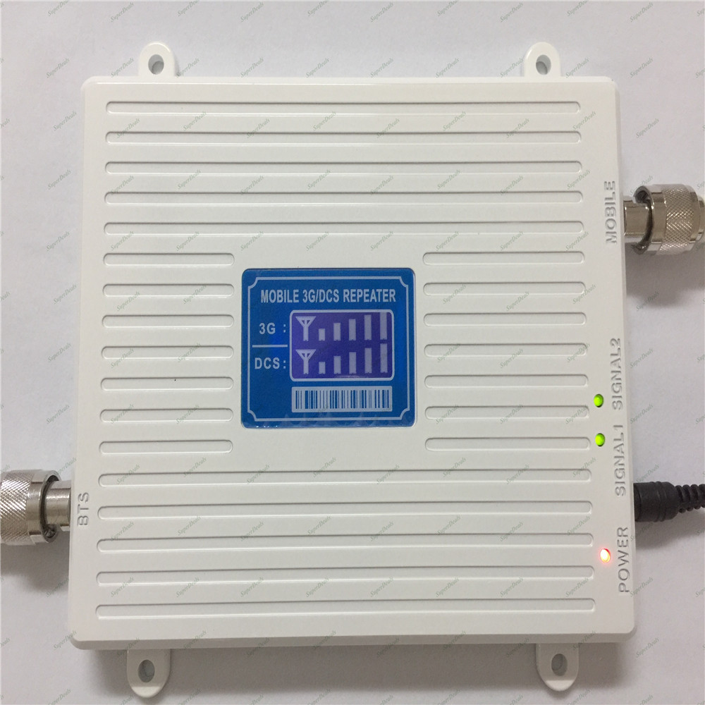 Amplificateur de signal cellulaire à double bande 2g 4g lte 1800 MHz dcs booster UMTS 3g 2100 MHz amplificateur de répéteur - 3