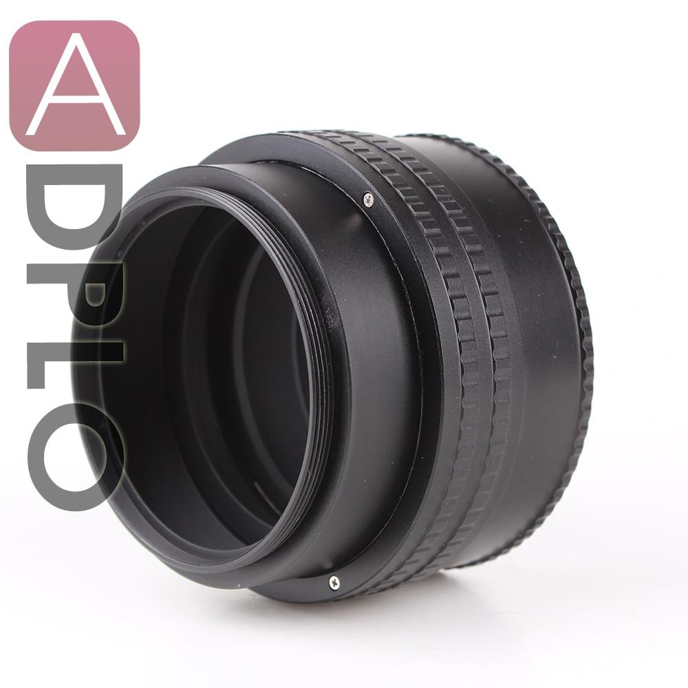 ADPLO 25mm à 55mm M65 à M65 Monture Réglable Hélicoïdal Mise Au Point Macro Tube Adaptateur