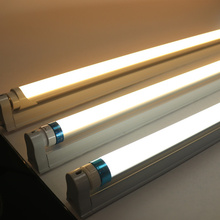 High Bright LED Tube T8 Light AC 220V 0.6m 60cm 600mm 8W Integrated Driver Fluorescent Lamp Bulb Cold Warm White