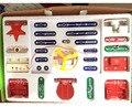 1 Conjunto Creative199 Tipos Modo Composto Snap Circuitos Eletrônicos Descoberta Kit Eletrônico Blocos de Construção de Montagem de Brinquedos para o Miúdo