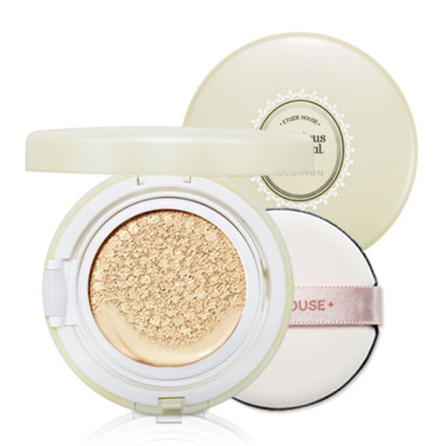 Original Korea Precious Mineral Moist Any Cushion SPF50+PA+++ 3 Color Makeup Face Foundation Concealer Sun Block Brighten Skin