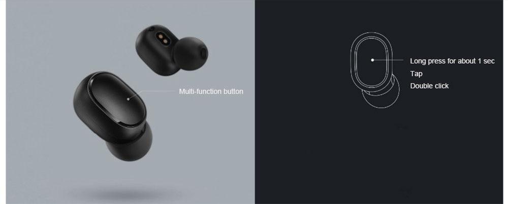 Xiaomi Redmi Airdots TWS Bluetooth Earphone Stereo Bass Wireless Bluetooth 5.0 Eeadphones With Mic Handsfree Earbuds AI Control (8)