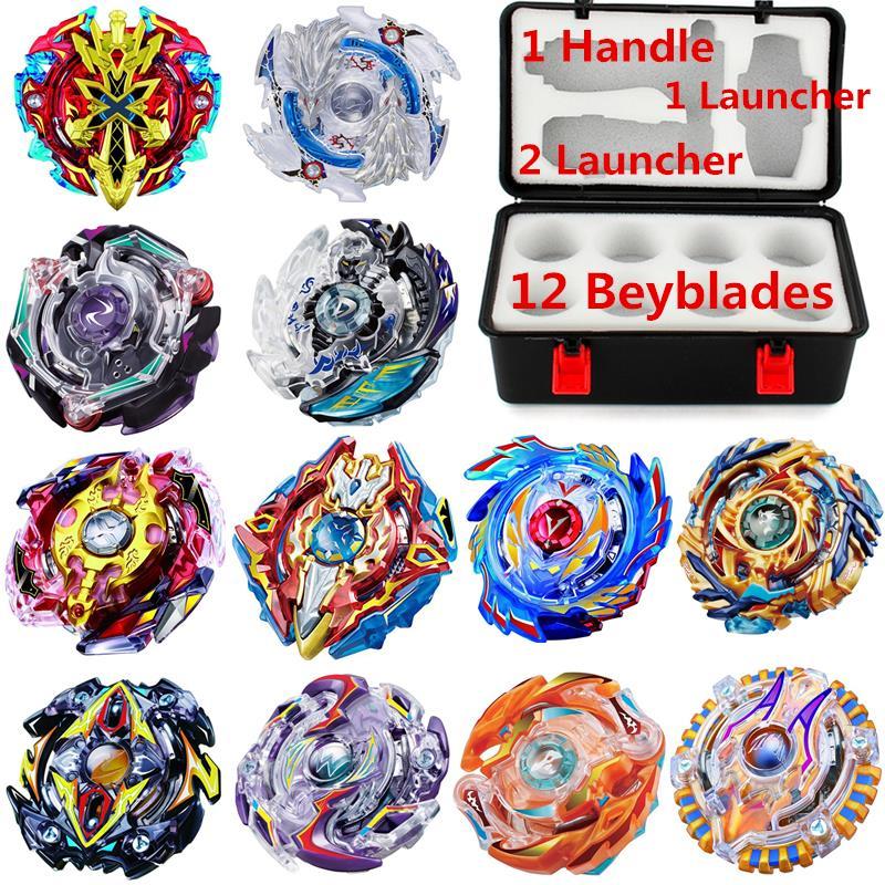Toupie chaude Beyblade rafale ensemble Beyblade lanceur arène Bayblade métal Fusion 4D Bey lames lames jouets vente
