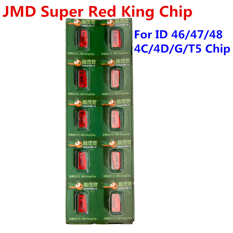 Image 2 - Original JMD KING Chip for Handy Baby Hand held Car Key Copy Chip Replace JMD 4C / 4D / 42/46/48 / 72G 5PCS/Lot JMD Red King-in Auto Key Programmers from Automobiles & Motorcycles