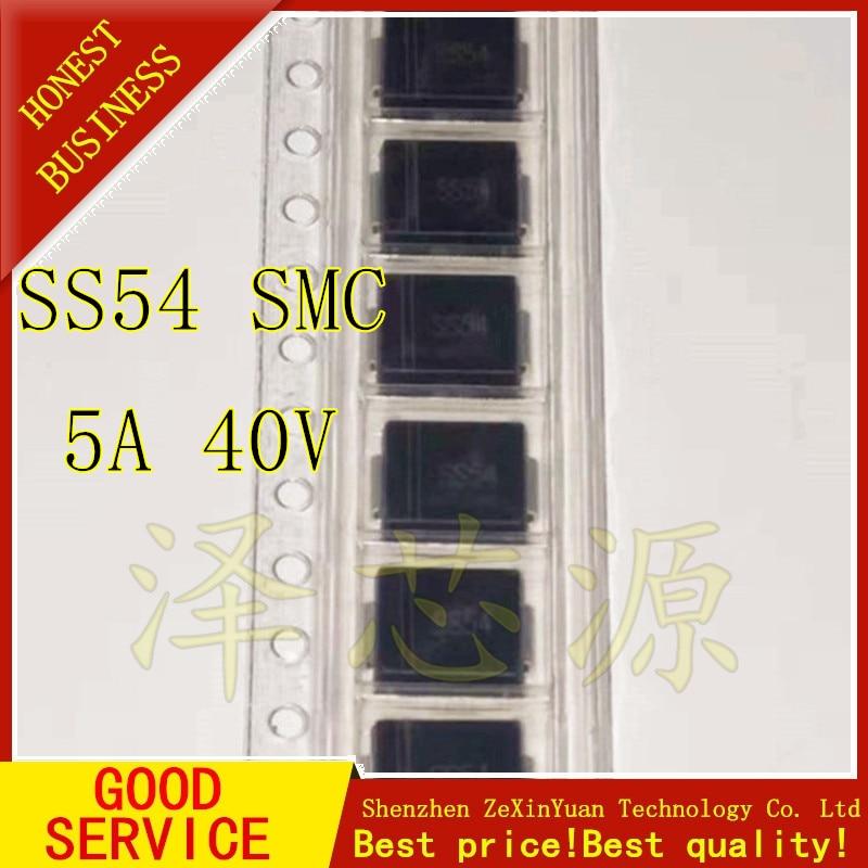 10PCS SS54 SK54B 1N5824 5A//40V SMB DO-214AA Schottky Diodes