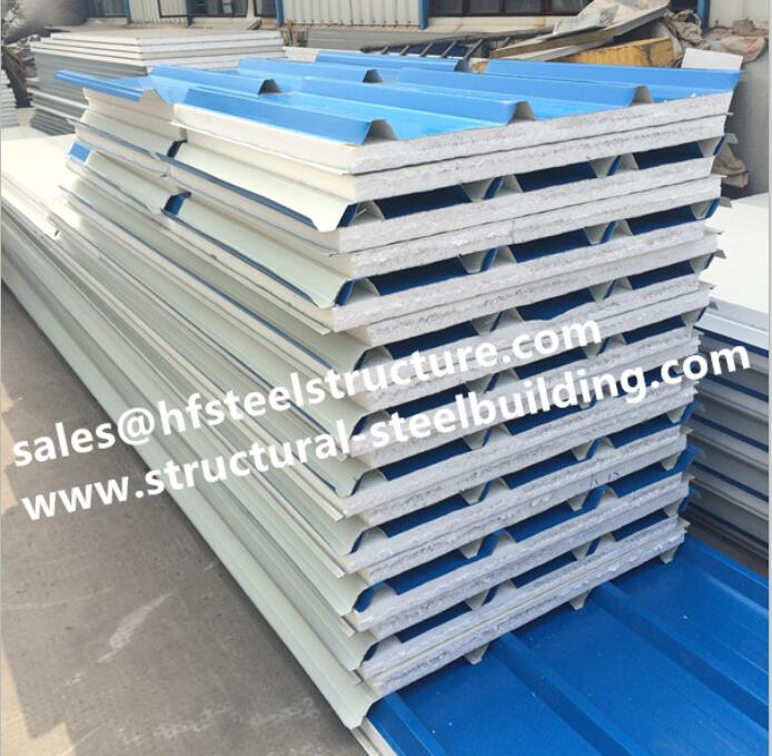 Chinese Supplier EPS Sandwich Insulation Cold Room Panel For Blast Freezers Cold Storage System And Container Cold Room