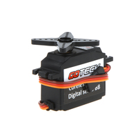 Goteck 9257MG Metal Gear Digital RC Servo for Align Trex 450 500 Helicopter Plane