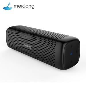 Image 1 - Meidong MD 6110 אלחוטי Bluetooth נייד רמקול 15W סופר בס רמקול מובנה מיקרופון 12 שעה זמן למשחק טלפון מחשב