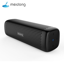 Meidong MD-6110 Wireless Bluetooth Portable Speaker 15W Super bass Loudspeaker Built-in microphone 12-Hour Playtime for phone PC цена