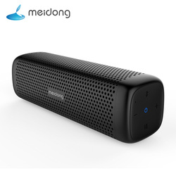 Meidong MD-6110 Wireless Bluetooth Portable Speaker 15W Super bass Loudspeaker Built-in microphone 12-Hour Playtime for phone PC