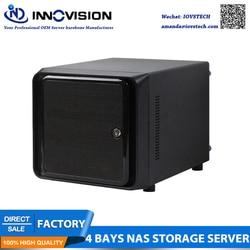 Magazzino Prezzo di Fabbrica Mini-ITX Hot Swap 4 Alloggiamenti per NAS Nube Storege IPFS Server