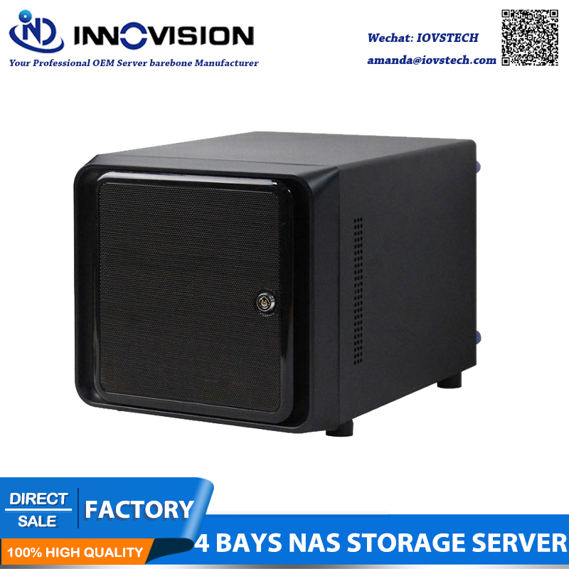 Stock Factory Price Mini-ITX Hot Swap 4 Bays NAS Cloud Storege IPFS Server