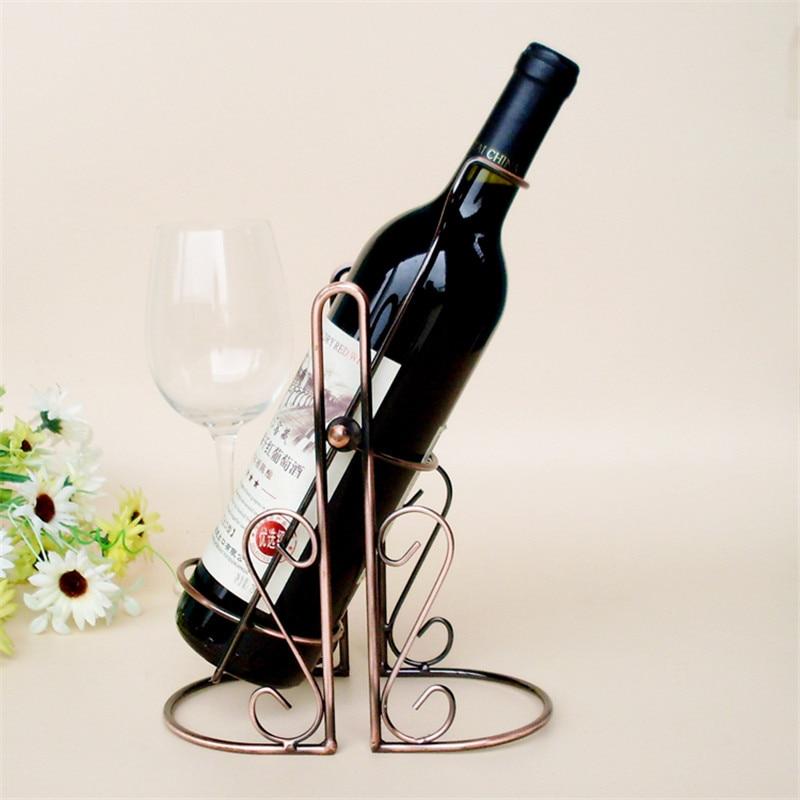 Creative Swing Pour Wine Rack Wine Holder Tabletop Wine Bottle Shelf For Wedding Banquet Home Kitchen
