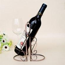 Kreativen Schwung Gießen Weinregal Weinhalter Tabletop Wine Flasche Regal Für Hochzeit Veranstaltungs Home Kitchen Bar Zubehör