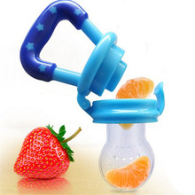 1Pcs Baby Pacifier Clip Attache Sucette Kids Nipple Food Milk Feeder Safe Baby Pacifier Bottles Nipple Teat Fresh Fruit Nibbler(China)