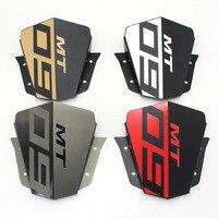 MT 09 Motorbike Windshield Wind screen For Yamaha MT09 MT 09 FZ 09 2014 2015 2016 Aluminum