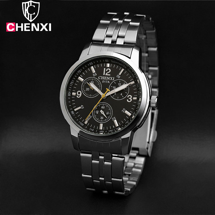 CHENXI Wristwatch For 2017 Wrist Watch Men Watches Top Brand Luxury Famous Quartz Watch Male Clock Man Hodinky Relogio Masculino chenxi wristwatches gold watch men watches top brand luxury famous male clock golden steel wrist quartz watch relogio masculino