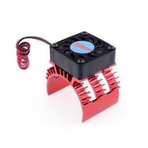 Image 3 - Радиатор двигателя SURPASSHOBBY 7014 с охлаждающим вентилятором 21000 об/мин для радиоуправляемого автомобиля 1/10 HSP, модифицированный 540 550 3650 3660 3670 3674 серии