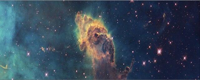 50x177 متعددة عرض الفضاء نجوم colorl الكون galaxy المشارك طباعة الحرير النسيج جدار ديكور مخصص طباعة