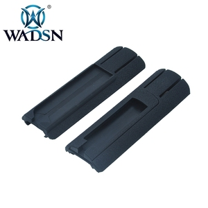 """Image 4 - WADSN Airsoft 4.125 """"ITI TD Narbe Tasche Panel Remote Schalter Pad Schwanz Schützen Slot Passt 20mm schienen PEQ15 scout Licht Zubehör"""