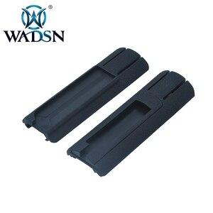 """Image 4 - WADSN Airsoft 4.125 """"ITI TD Scar Pocket Pannello Interruttore A Distanza Pad Coda Proteggere Slot Misura 20 millimetri rails PEQ15 light Scout Accessorio"""
