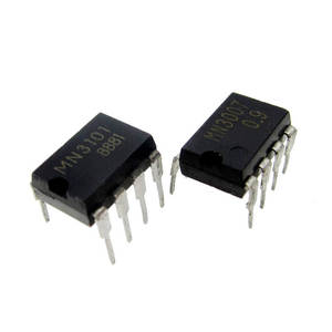 2pcs/lot=1pair MN3007 + MN3101 DIP-8 Microcomputers/Controllers CHIP In Stock