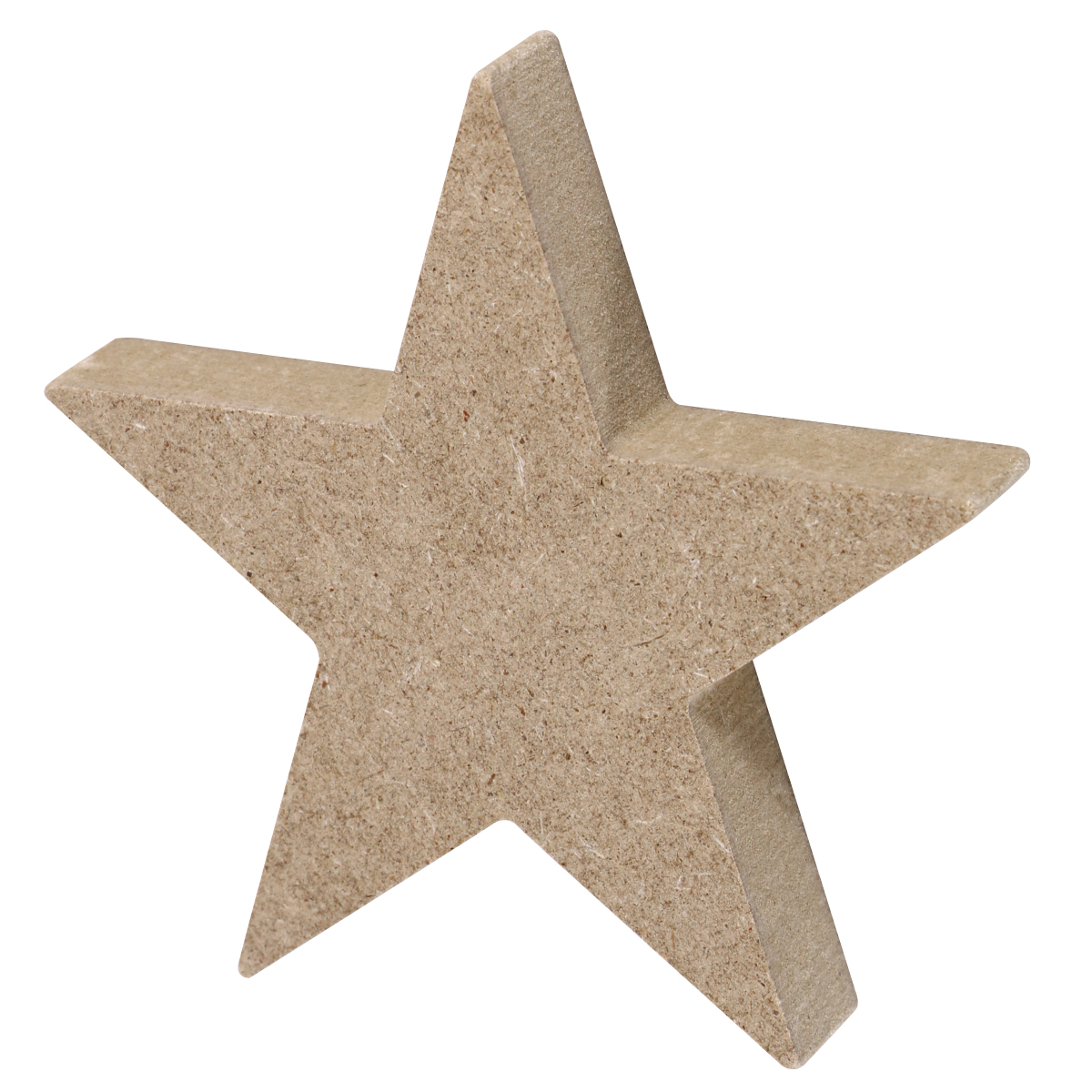 Home Decoration Hanging Ornament Accessory Painting Scrapbooking Craft Wooden DIY Star Shape Handmade Craft Decoration