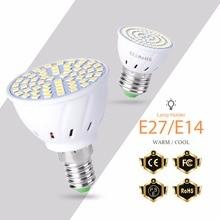 GU10 LED Bulb Lamp E27 Corn Light MR16 Spotlight Bulb 48 60 80leds Spot light GU5.3 Ampoule Led E14 220V Bombillas Home Lighting стоимость
