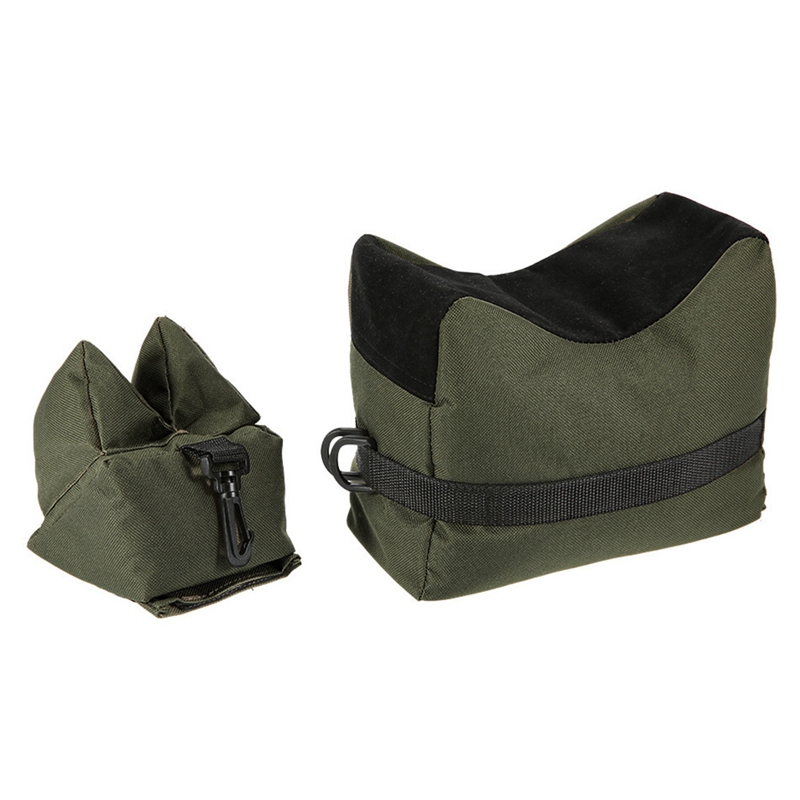 Front&rear Bag Support Rifle Sandbag Without Sand Sniper Hunting Target Stand Hunting Gun Accessories Clear-Cut Texture
