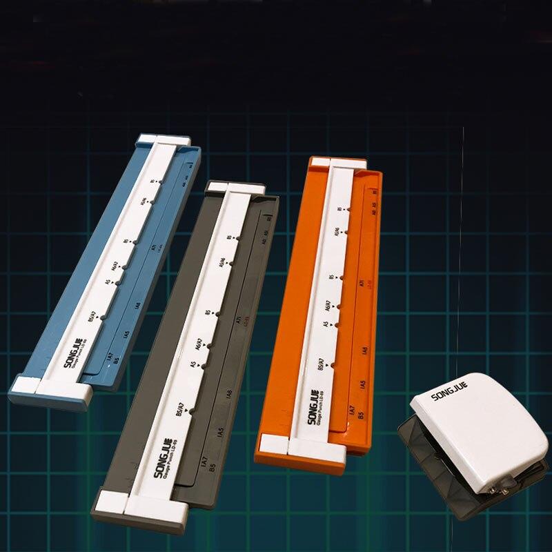 A6(6 Hole) / A5(6 Hole) / B5(9 Hole) Hole Puncher DIY Loose Leaf Hole Punch Handmade Loose-leaf Paper Hole Puncher