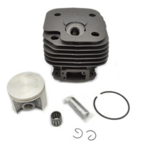 Chainsaw 50mm Cylinder Piston Kit With Rings Needle Bearing Assy For Husqvarna 268 Replacement OEM 544222902