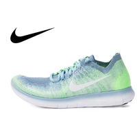 Original Authentic NIKE FREE RN FLYKNIT Women's Running Shoes Sneakers Breathable Sport Outdoor Leisure Low top Shoes 880844