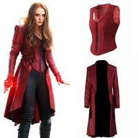 Scarlet Witch Cosplay Wanda Maximoff Costume Avengers Infinity War Captain America Civil War Halloween Women Accessories