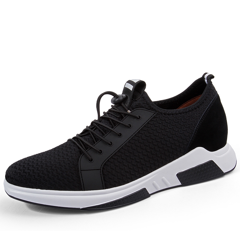 Heightening Shoes Elevator Shoes Height Increase Shoes for Men 8CM Spring Men British Elevator Business Classic Sneakers in Men 39 s Casual Shoes from Shoes
