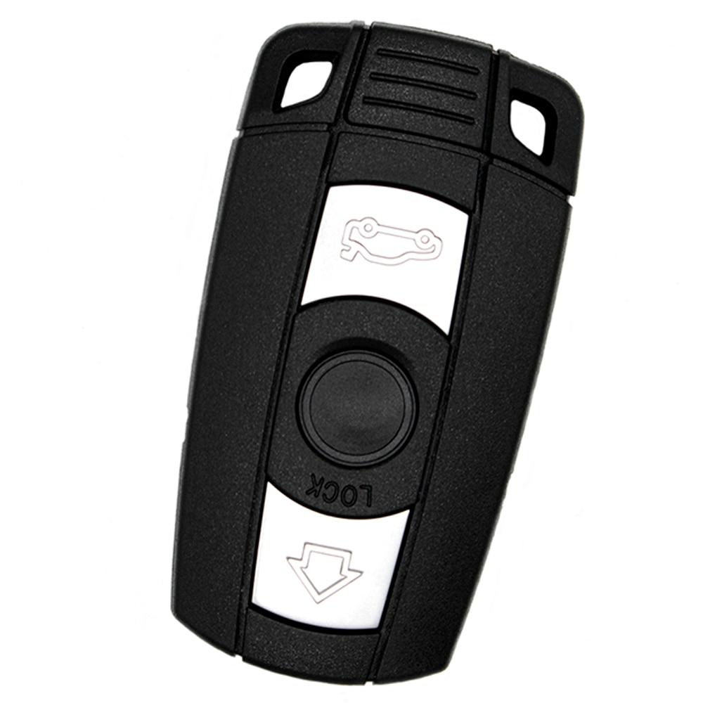WhatsKey 3 Button Remote Car Key Shell Smart Key Cover Fob Case For BMW 1 3 5 6 Series E91 E92 E60 E90WhatsKey 3 Button Remote Car Key Shell Smart Key Cover Fob Case For BMW 1 3 5 6 Series E91 E92 E60 E90