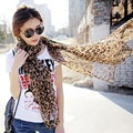 Hot Women Foulard Summer Scarf Shawl Sexy Leopard Scarves For Women Chiffon Long Sunscreen Pashmina Scarf Echarpes Fulares Mujer