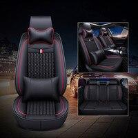 Высокое качество! Полный комплект автомобильных сидений чехлы для Mercedes Benz C Class W205 2019 2013 дышащие прочные чехлы на сиденья, бесплатная доставк