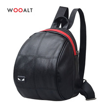 Wooalt Mini Backpack Women Shell Backpacks Girls Fashion Small Travel Shoulder Bags Casual Daypack Mochilas Mujer 2019