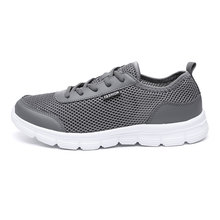 QASDUO Outdoor Walking Sneakers Breathable Fashion Mesh Casual Shoes Co