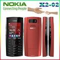 X2-02 Оригинальный Nokia Телефон Symbian OS X2-02 мобильный телефон мода сотовые телефоны Бесплатная доставка