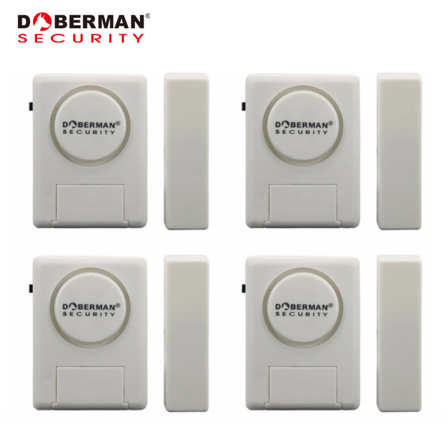 Doberman Sécurité Porte Fenêtre Dalarme Kit Pack Porte Fenêtre - Sécurité porte