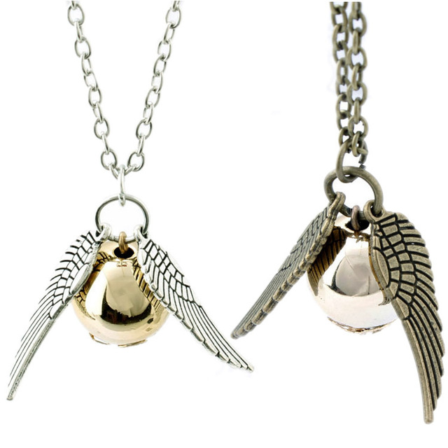 HarryPotter-Golden Snitch Pendant