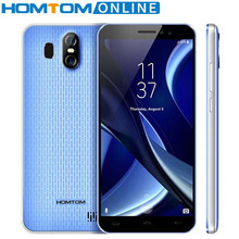 HOMTOM S16 5.5″18:9 Full Screen Smartphone Fingerprint ID 2GB+16GB Quad Core Dual Back lens Android 7.0 3000mAh 3G Mobile Phone