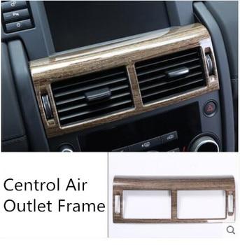 Walnut Imitation Wooden Centrol Air Outlet Frame For Land Rover Discovery /Freelander 2015-2017 Z2EA935