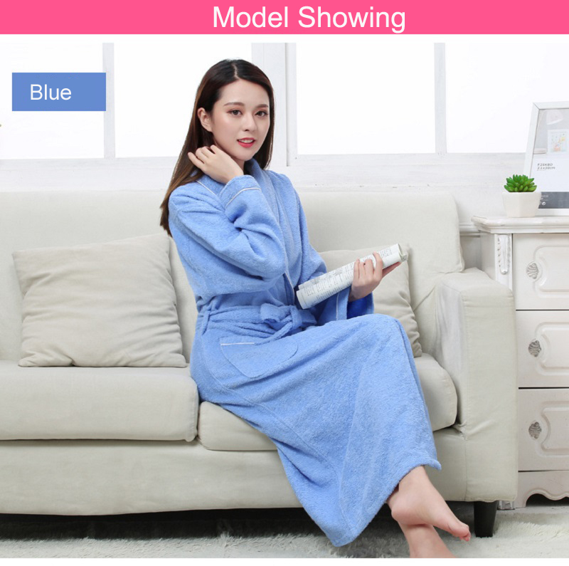 ... Sleeve Robe All Seasons for Home Clothing Hotel Beauty Salon Spa Robes. Women  Men robes (1) Women Men robes (2) cotton terry bathrobes size blue cotton  ... 355ec211a