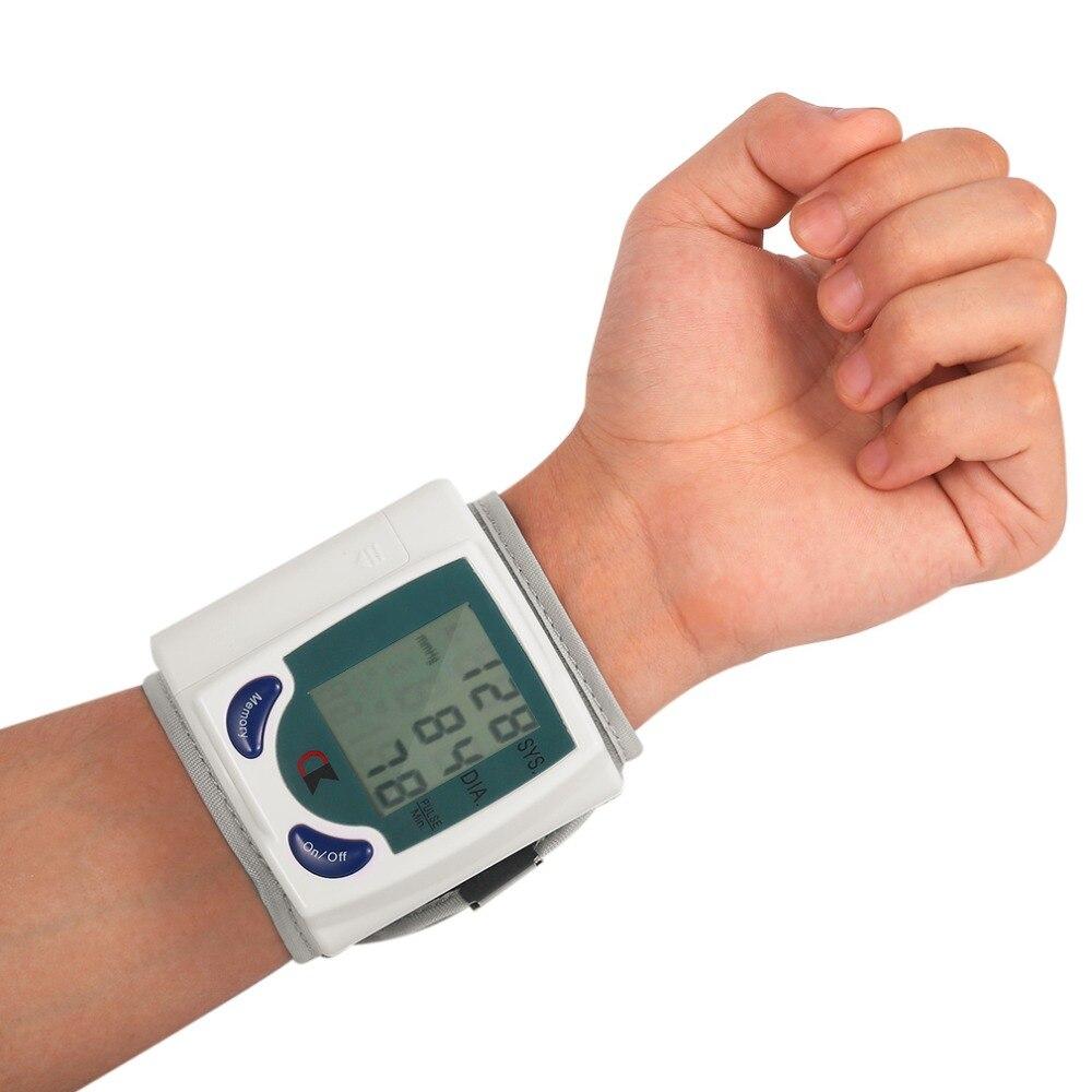 Casa automático de pulso digital lcd monitor pressão arterial portátil tonômetro medidor para medidor pressão arterial oximetro de dedo